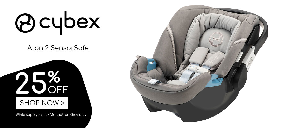 cybex deal Aton SensorSafe Manhattan Grey