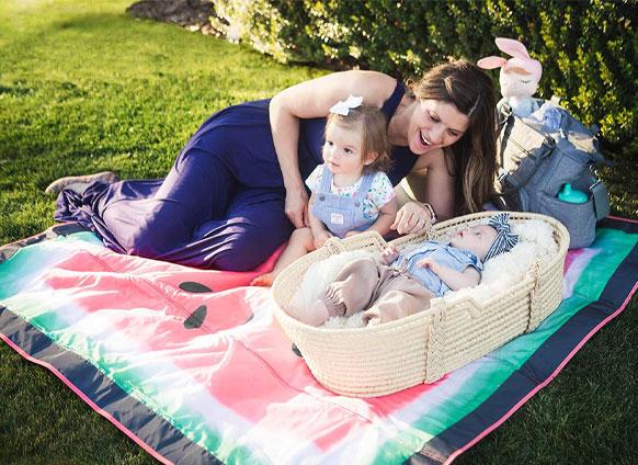 JJ Cole Outdoor Blanket, Family Picnic, TJs the Kiddies Store