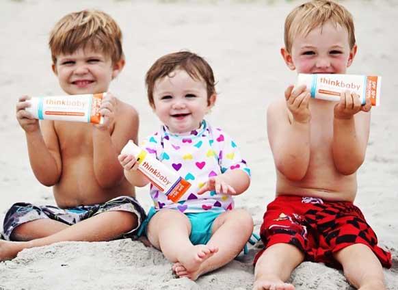 Thinkbaby Sunscreen, TJs the Kiddies Store