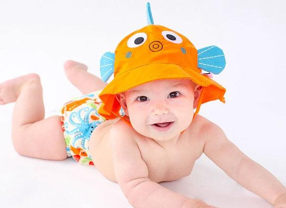 Zoocchini Baby Sun Hat, TJs the Kiddies Store