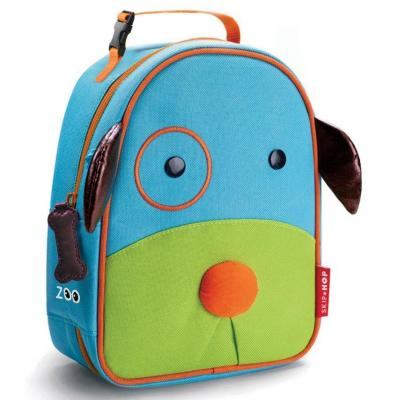 Zoo Lunchies Insulated Lunch Bag Dog