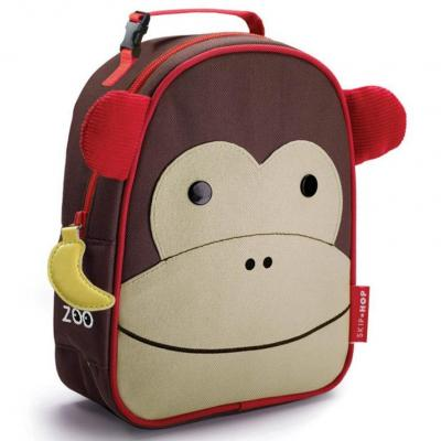 Zoo Lunchies Insulated Lunch Bag Monkey