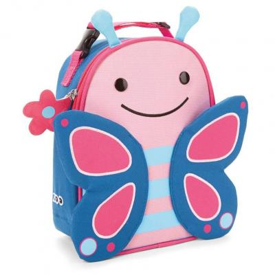 Zoo Lunchies Insulated Lunch Bag Butterfly