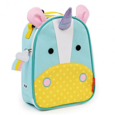 Zoo Lunchies Insulated Lunch Bag Unicorn