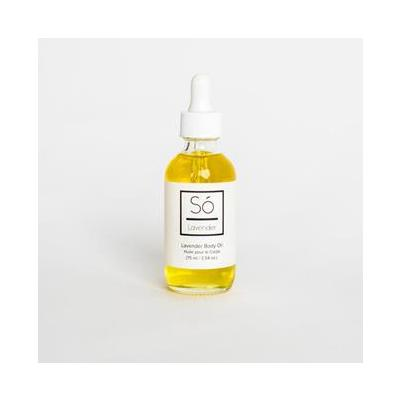 So Luxury Body Oil Natural