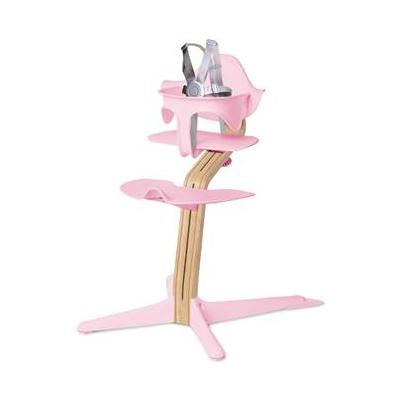 Highchair White Oak Stem Pink