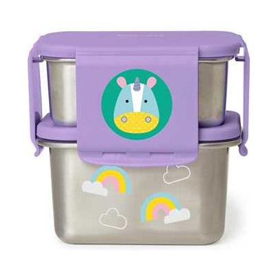 Zoo Stainless Steel Lunch Kit Unicorn