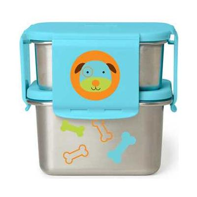 Zoo Stainless Steel Lunch Kit Dog