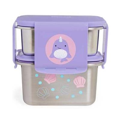 Zoo Stainless Steel Lunch Kit Narwhal