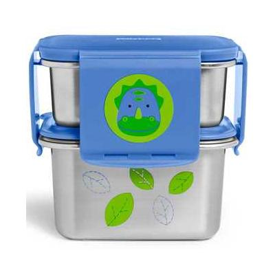 Zoo Stainless Steel Lunch Kit Dino