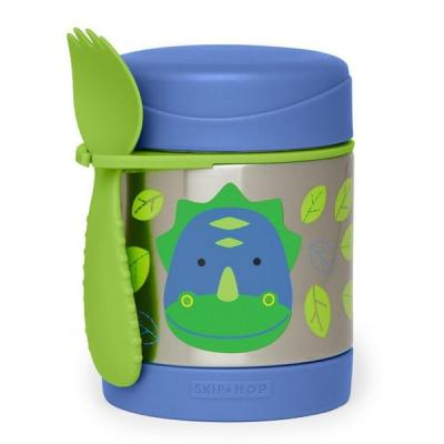 Zoo Insulated Steel Food Jar - Dino