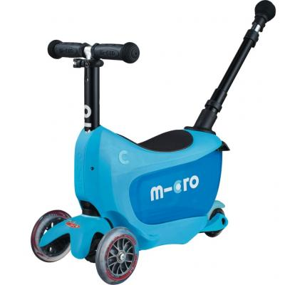 Mini2Go Deluxe Plus Kickboard - Blue