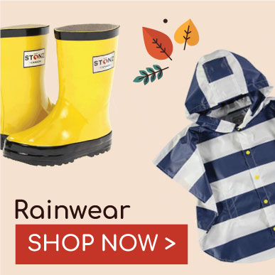 kids rain boots, rain jackets, and rainwear tjskids